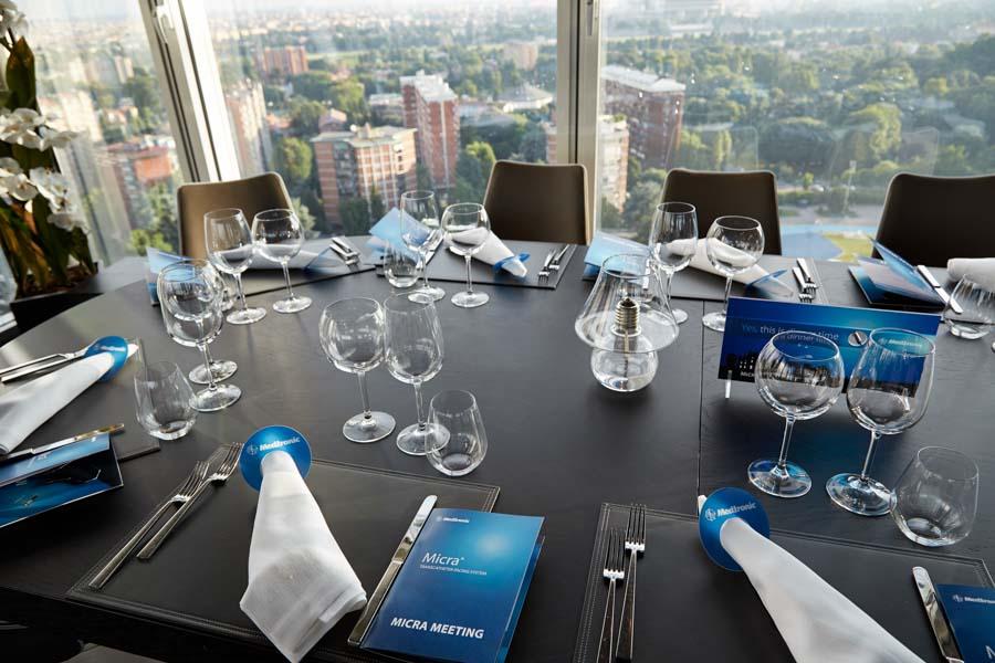 cena aziendale milano