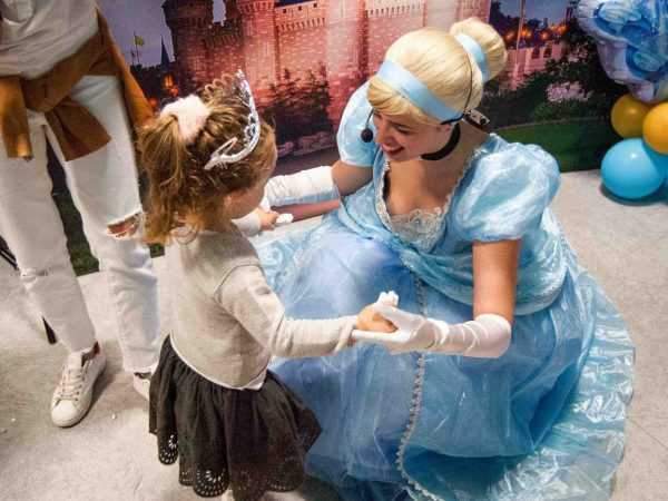 animatrice principessa per festa bambini