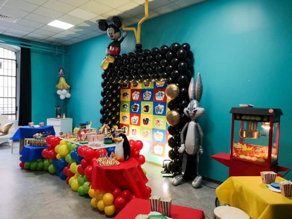 festa compleanno a tema looney tunes