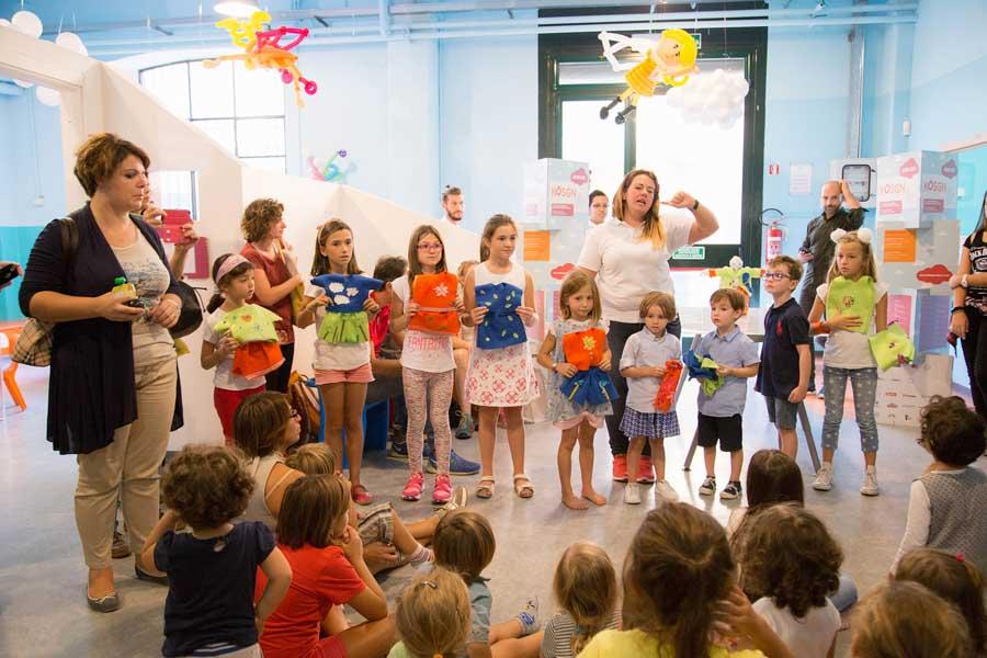 design week laboratorio per bambini milano