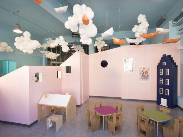 Robert Cutty Kids-spazio feste allestito per compleanno a tema per bambini