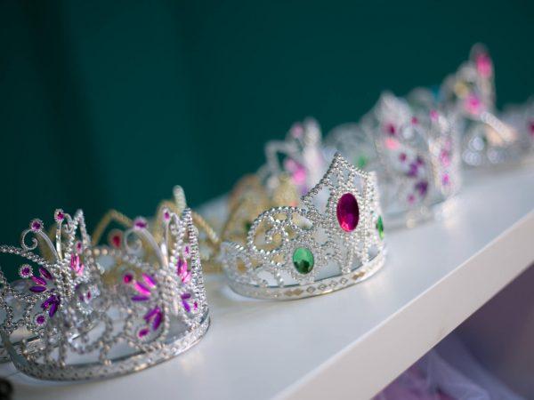 corone principesse festa per bambini