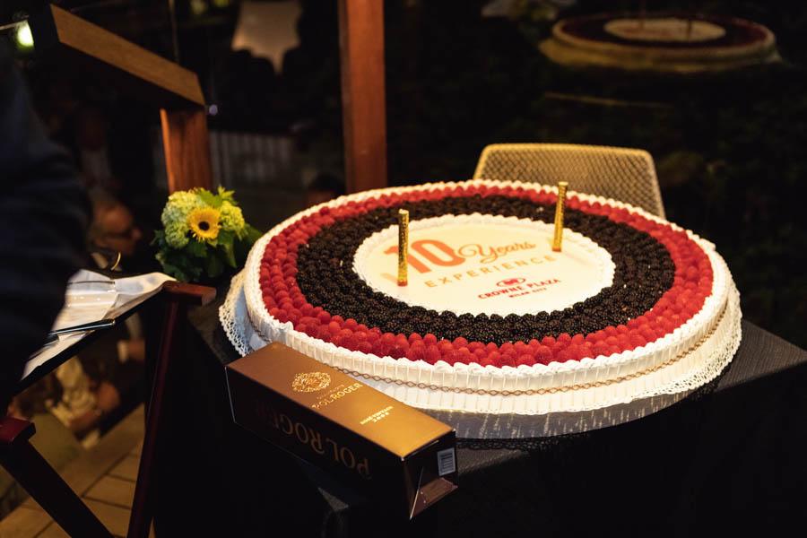 torta anniversario aziendale