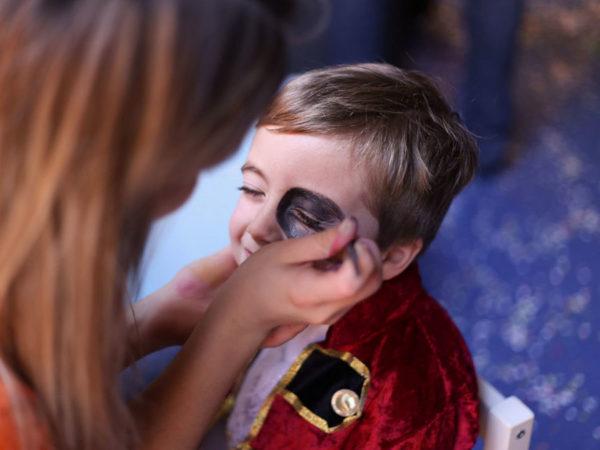 Robert Cutty Kids_maquiagem infantil durante festa de aniversário da RC Kids