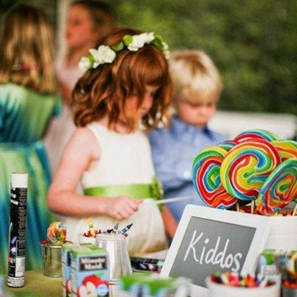 Creative workshops for kids during the wedding_RC Weddings