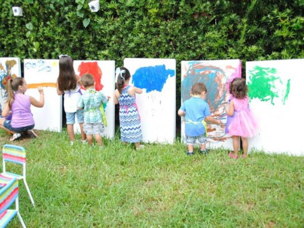 birthday parties in the park in milan with workshops