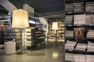Milano Fashion Library interior design