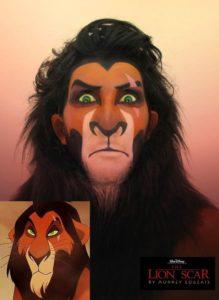 Scar make-up