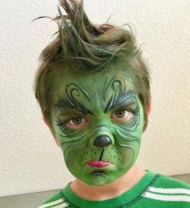 Grinch make-up