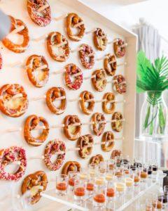Parete di pretzel capodanno 2019