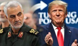 Soleimani e Trump 2020