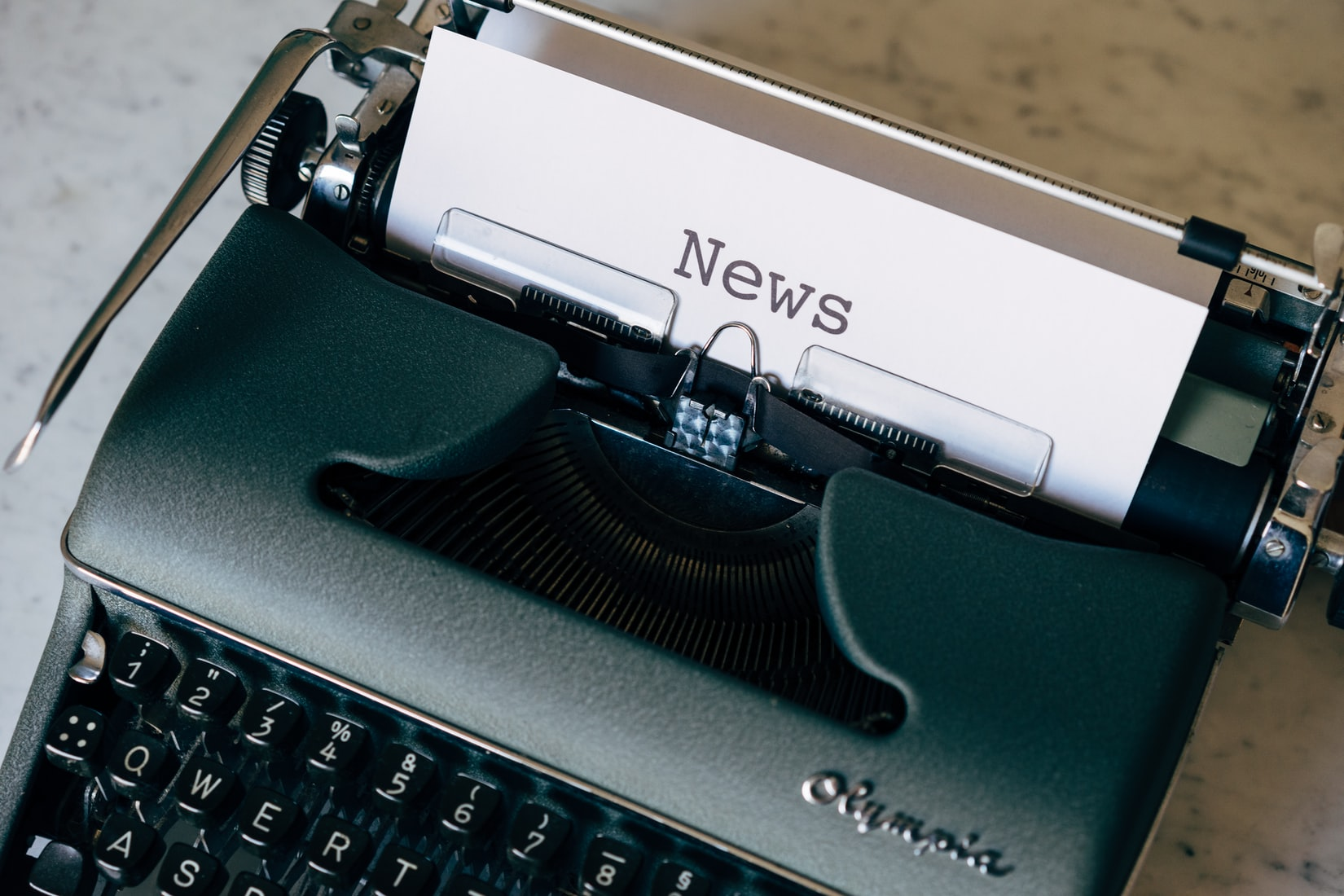 Macchina da scrivere per giornalismo