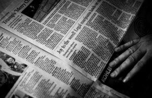 Pagina di giornale