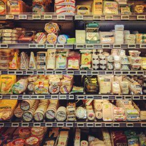 Formaggio al supermercato