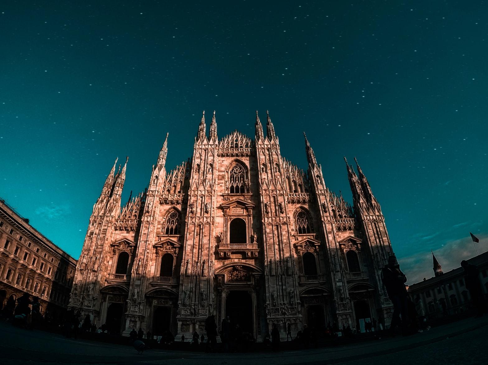 Duomo di Milano di notte
